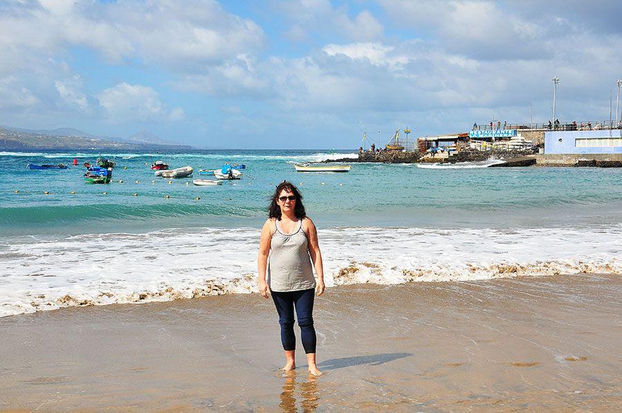 La Playa de las Canteras , Las Palmas
