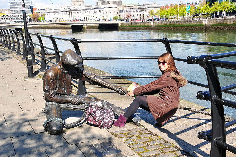 au fil de la Liffey Dublin