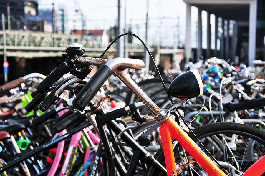 les vélos d'amsterdam