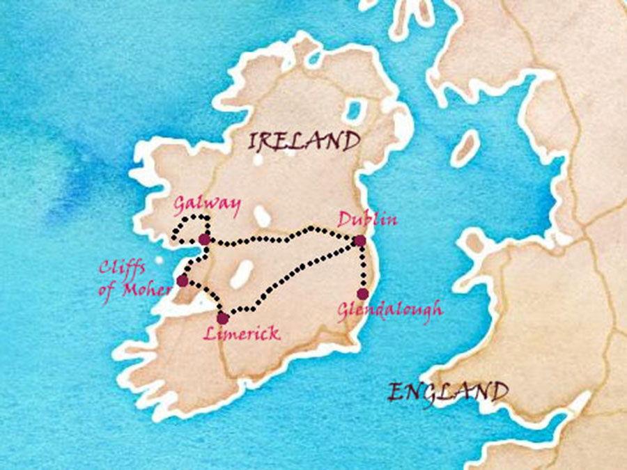 roas trip irlande une semaine