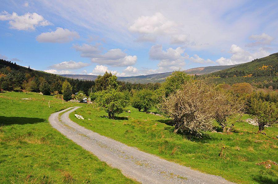 Au cœur des Wicklow Mountains Irlande