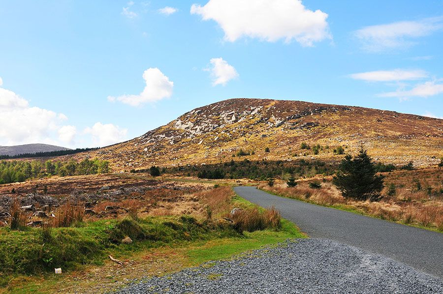 Au cœur des Wicklow Mountains Irlande