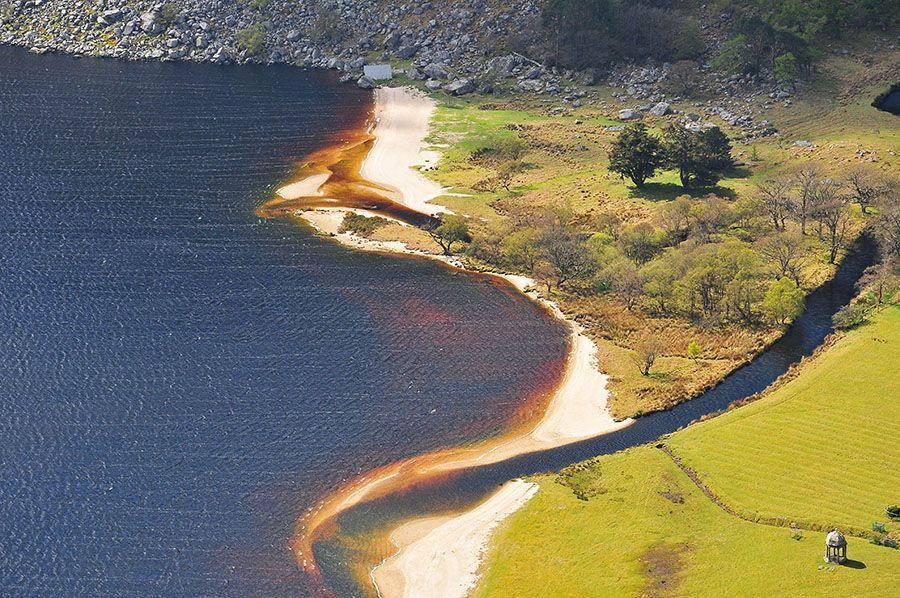 Lough Tay Irlande