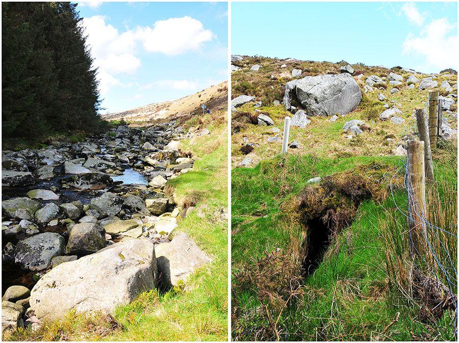 Glanmacnass waterfall irlande