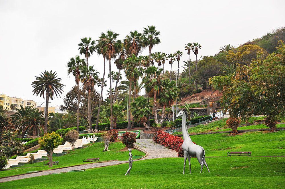 Parque Doramas las palmas