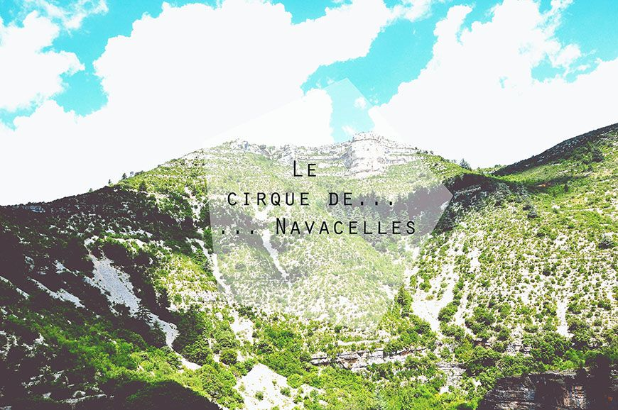 Le cirque de Navacelles