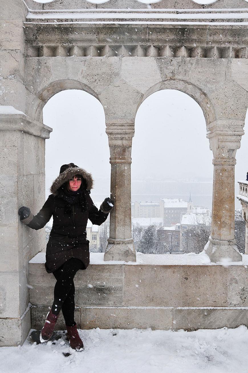 budapest neige