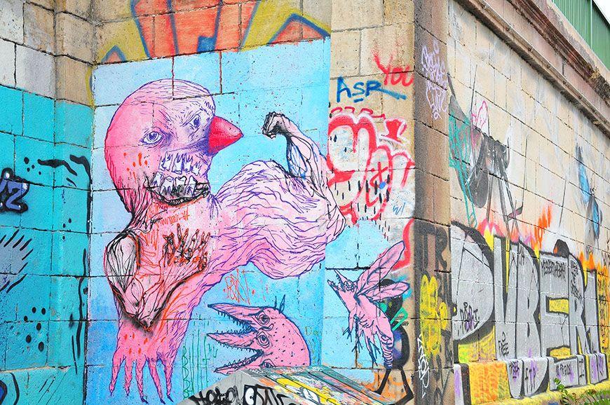 vienne street art danube