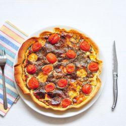quiche roquefort tomates