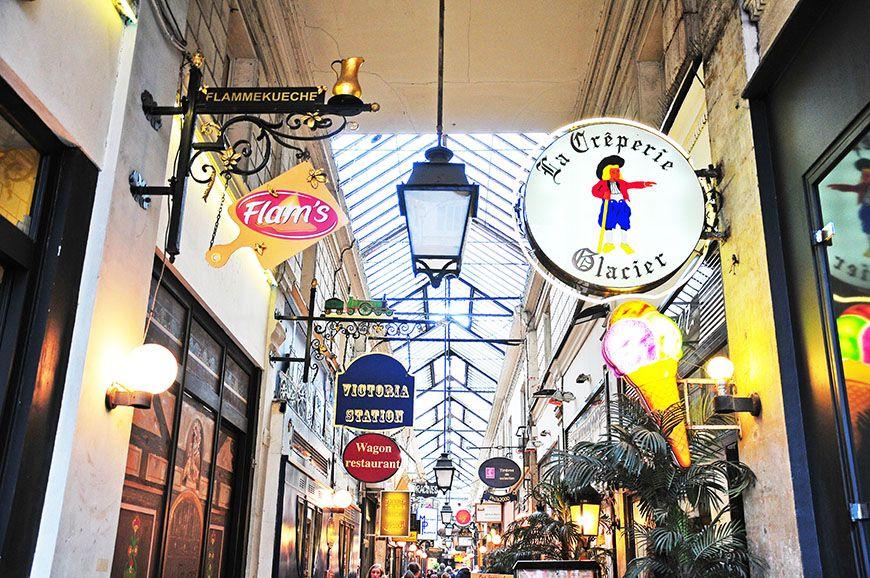 passages parisiens, jouffroy et verdeau
