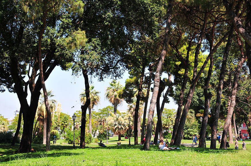 parc communal naples