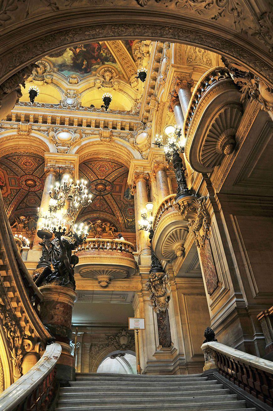 escalier opéra garnier