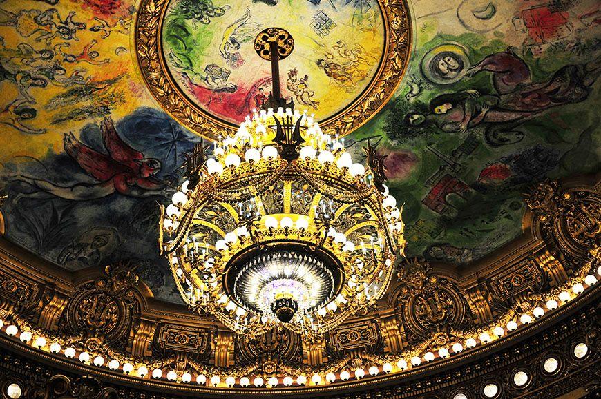 opéra garnier paris plafond