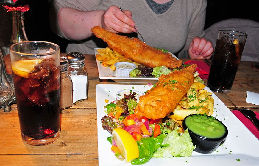 fish and chips irlande