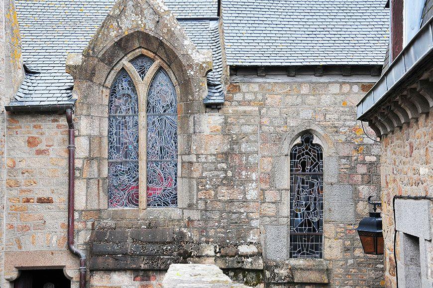 mont saint michel église