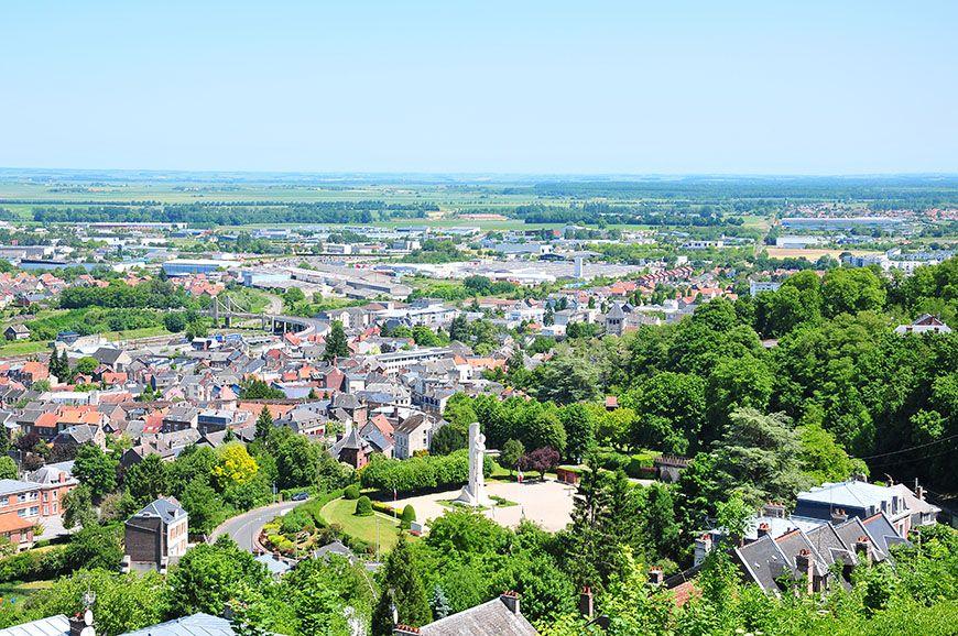 laon vue sur la ville