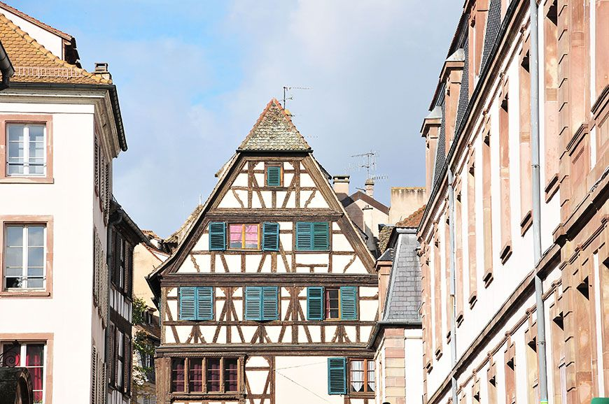 strasbourg maisons à colombages