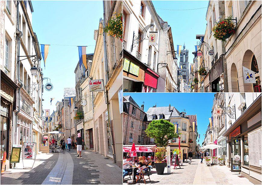 laon rues de la ville