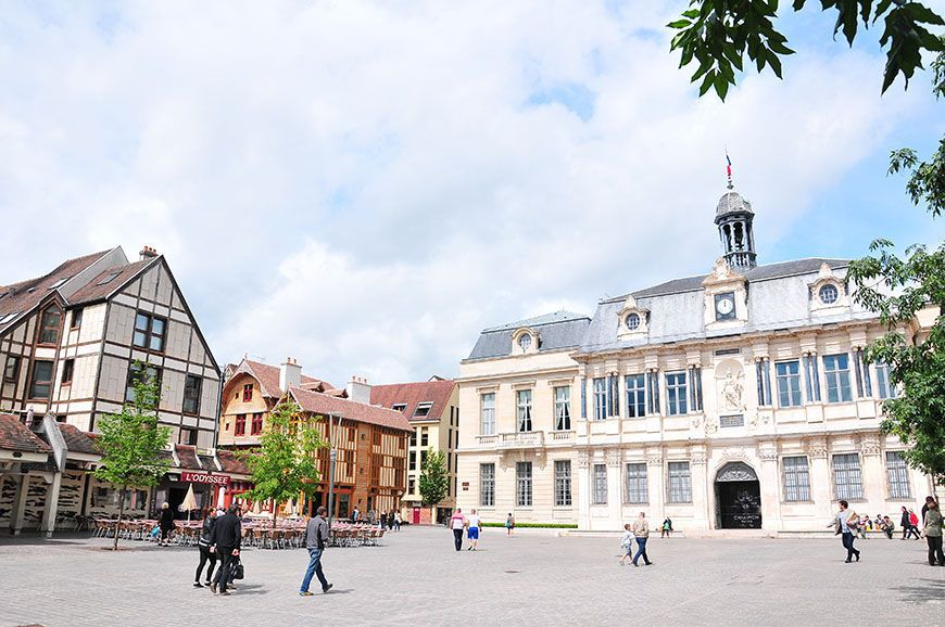 troyes centre ville