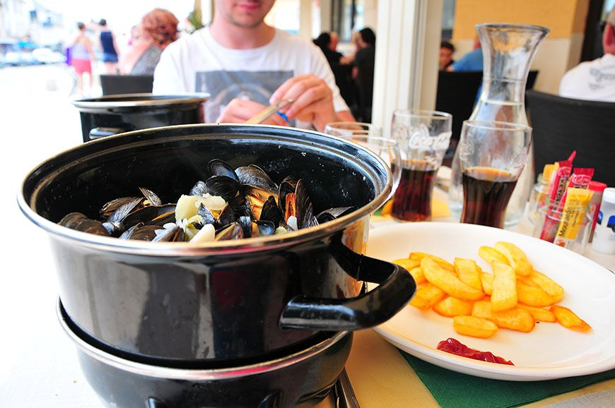 fort-mahon moules frites
