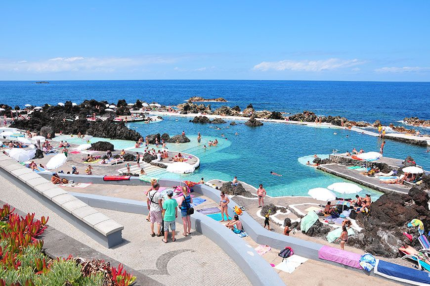 piscine naturelle madère