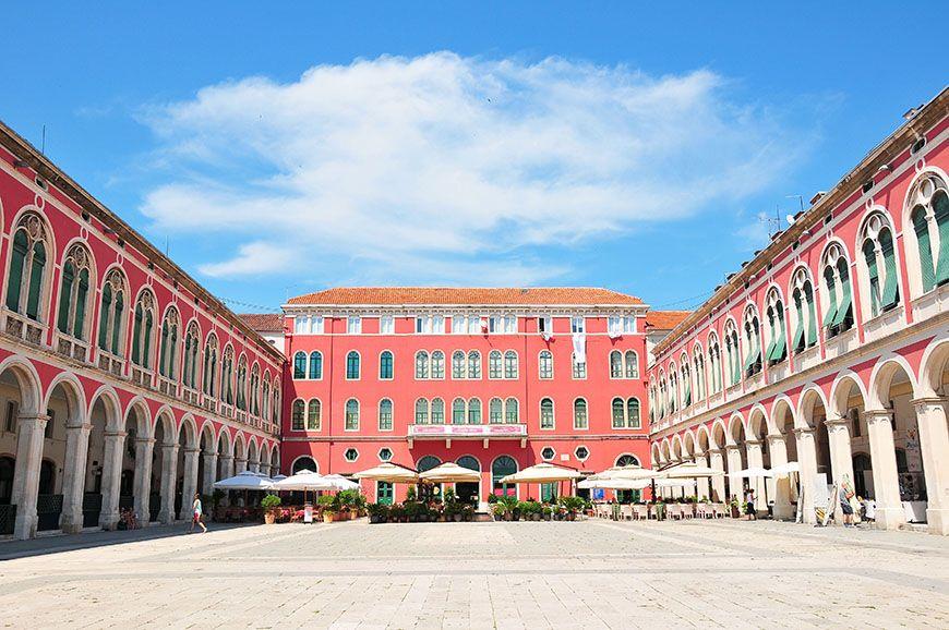 Place de la République Split