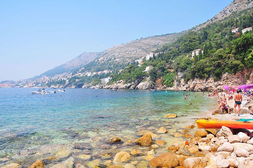 Plage de sable Dubrovnik