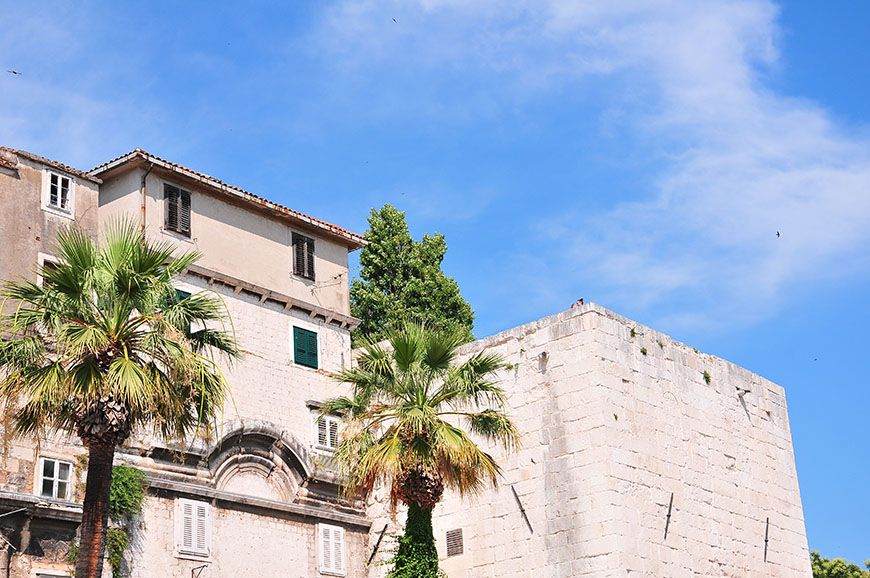 palais de dioclétien croatie