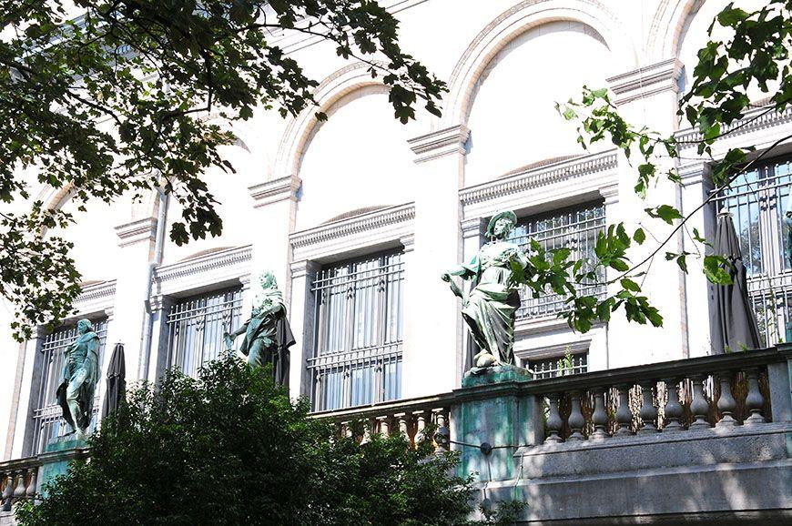 ardin des sculptures, à Bruxelles