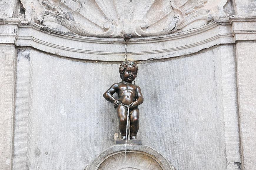 Manneken Pis, Bruxelles