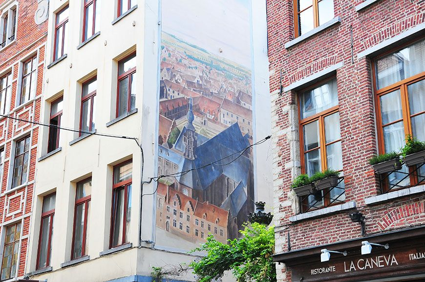 quartier Marolles à Bruxelles