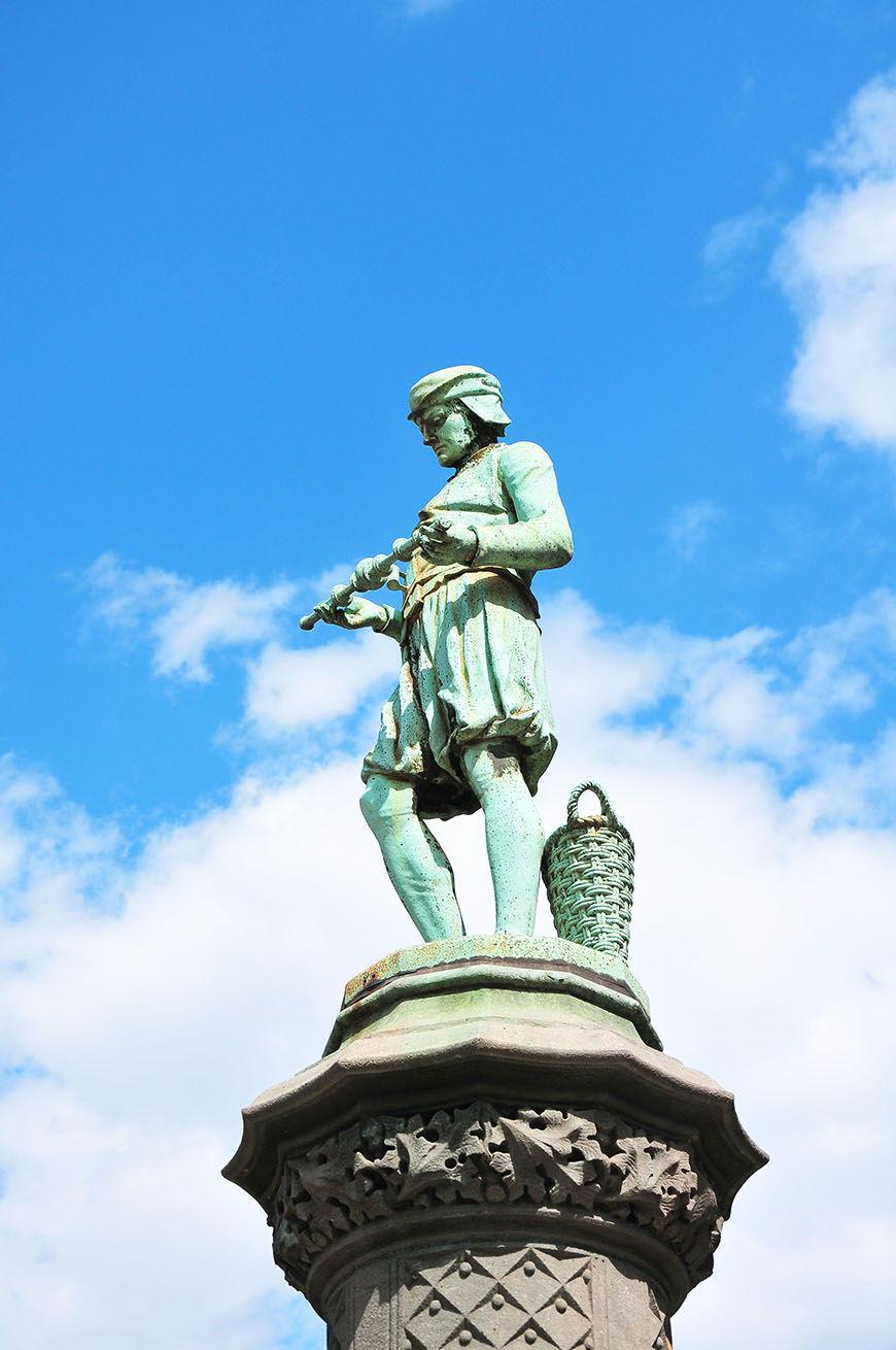 statue du parc du Sablon, Bruxelles