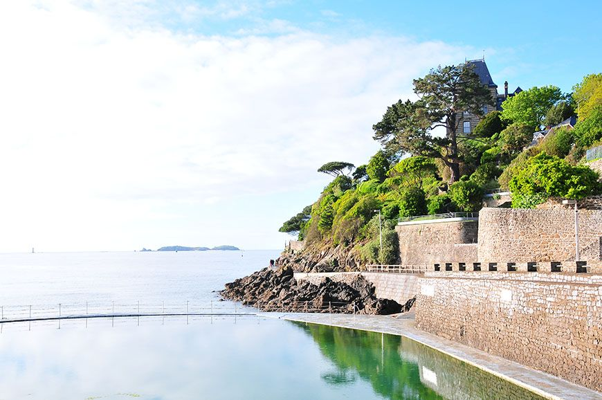 Balade dinard apr s l 39 averse my sweet escapemy for Piscine dinard