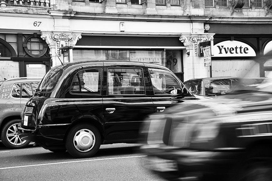 cab, taxi à londres