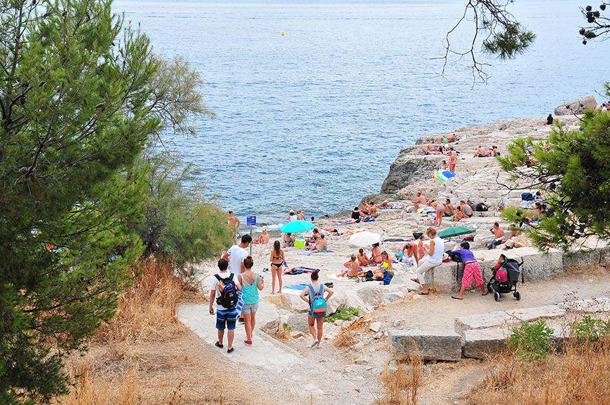 une journée à Cassis plage