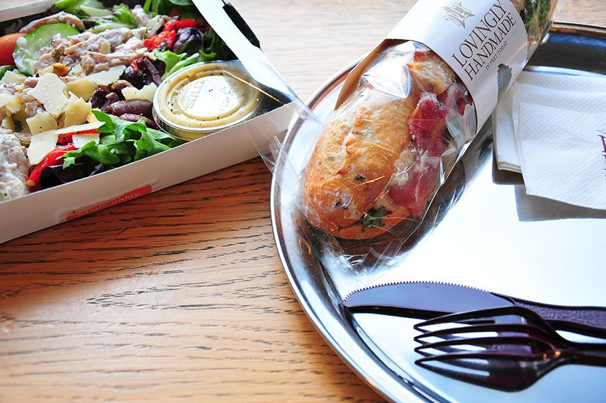 déjeuner à prêt à manger à Londres