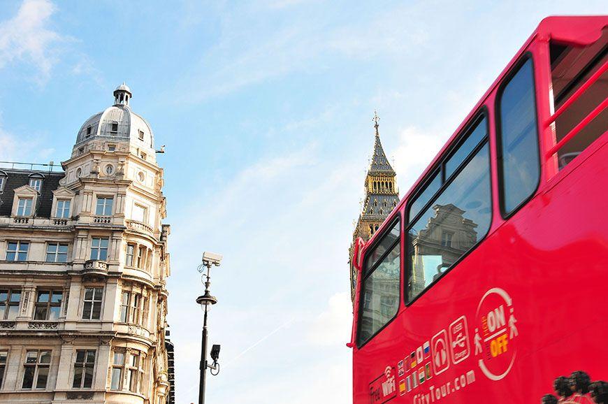rues londoniennes et big ben