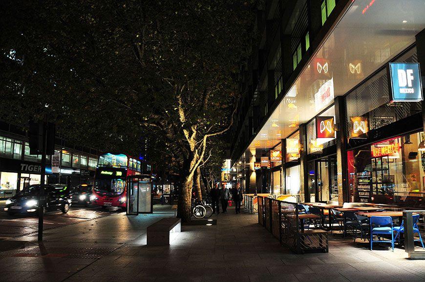 balade à Londres de nuit