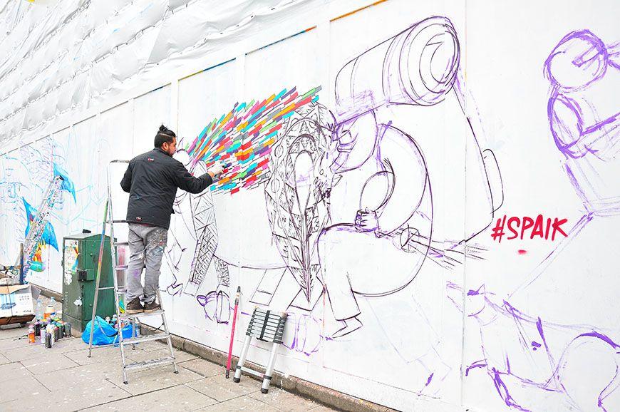 street-art shoreditch londres