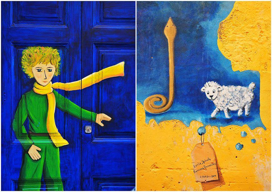 portes et street art à funchal rue santa maria