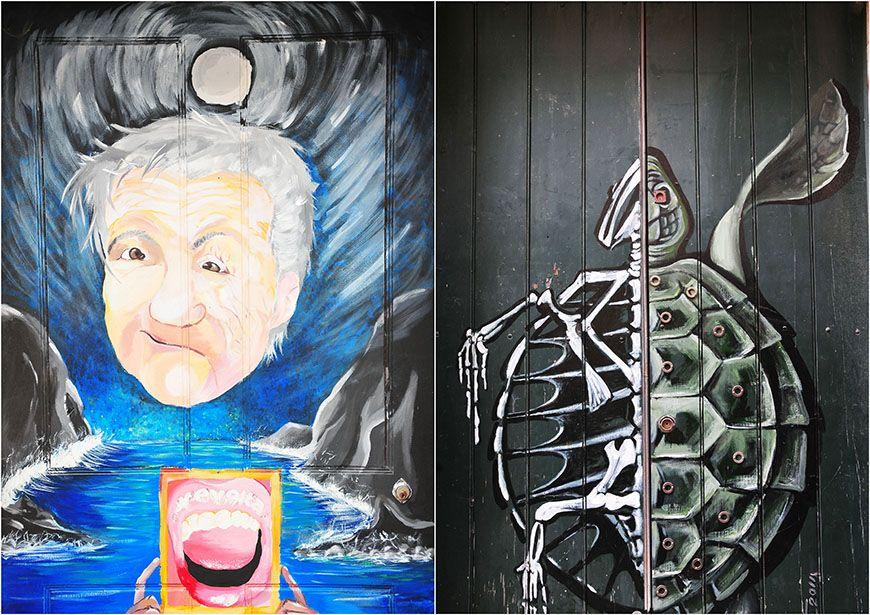 street art funchal rue santa maria
