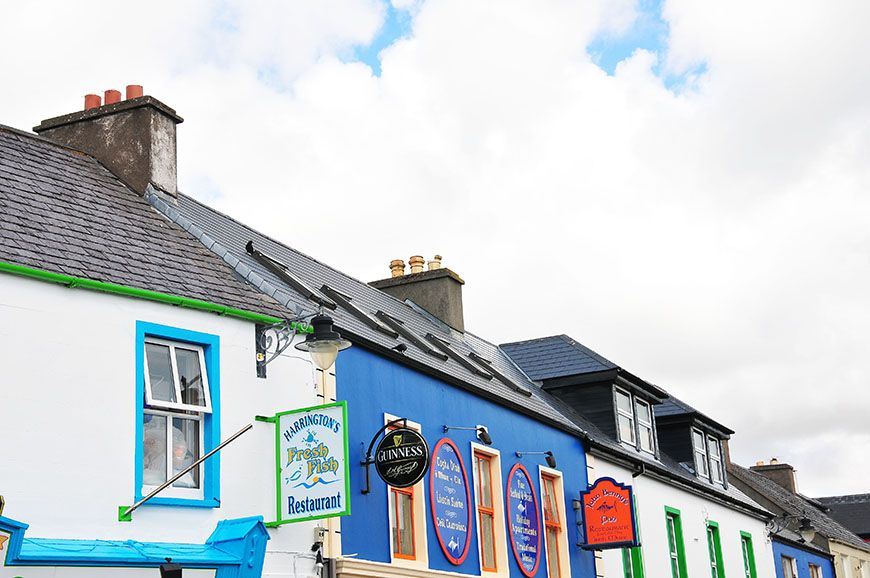 village de dingle en irlande