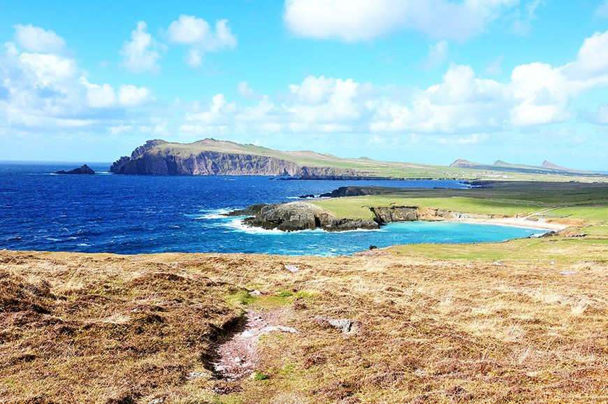 baie de dingle en irlande
