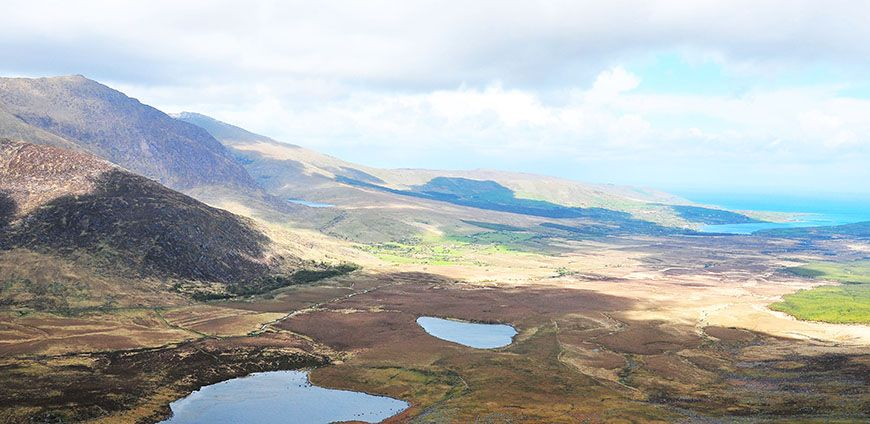 connor pass irlande
