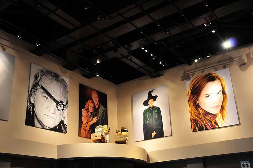studios harry potter hall