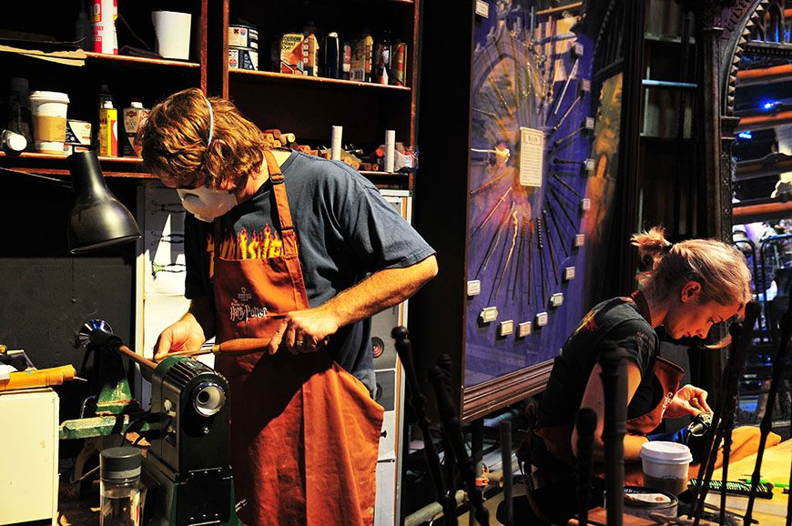 studios harry potter baguettes