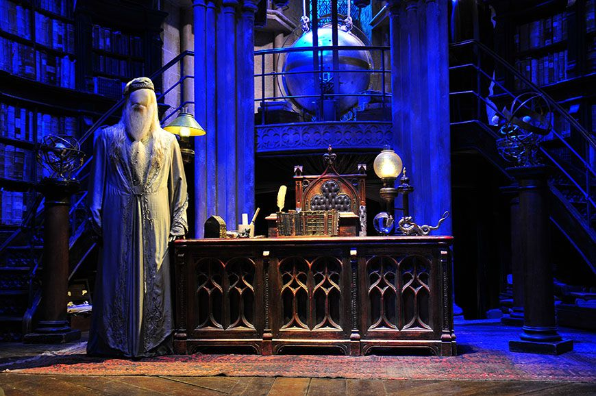 studios harry potter bureau dumbledore