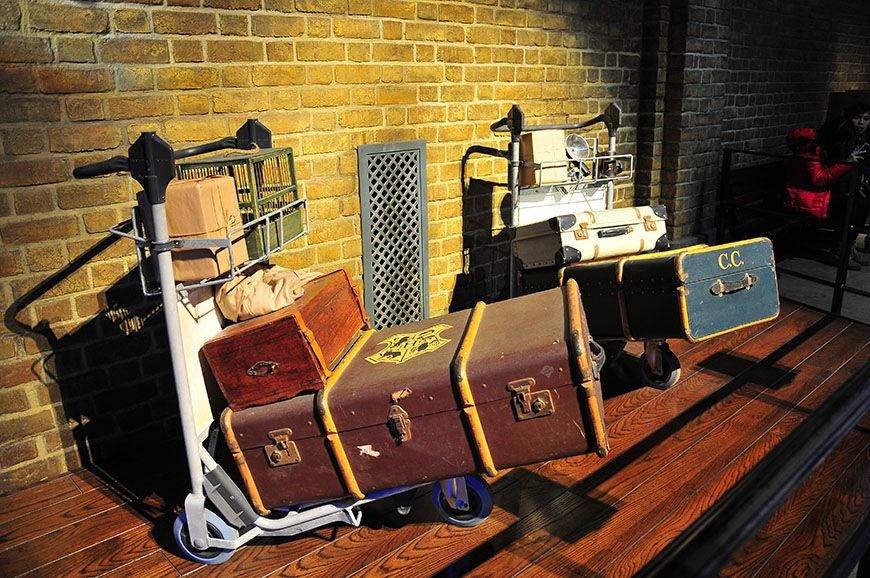 studios harry potter poudlard express