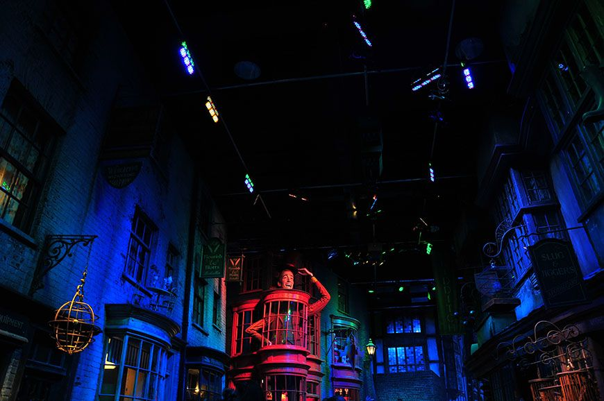 studio harry potter chemin de traverse