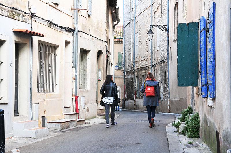 balade dans les rues d'arles